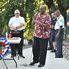 Rick Cawley — For Digital First Media<br /> Pastor Crawford Clark from Wissahickon Presbyterian speaks at the 21st Ward Veterans Association's Service of Remembrance in Gorgas Park Sept. 11.
