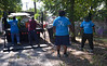 Bob Raines--Digital First Media <br /> Members of Kappa Alpha Psi Community Development Corp., clear away debris from an alley off of Elm St. during the Rock the Block community improvement event Sept. 17, 2016.