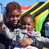 Taylor and Chole Gbasie, of Philadelphia, enjoy their afternoon at the 2016 SeptemberFest in James Memorial Park in West Rockhill Sunday, Sept. 25.  Debby High — For Digital First Media