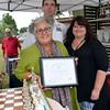 Mary-Lynne Moffatt is the Fine Craft Winner at the Souderton Art Jam.  Debby High — For Digital First Media