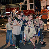 Boys Scouts Pack 79 participates in Perkasie Fire Company's open house Thursday, Oct. 13.  Debby High — For Digital First Media