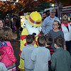 Sparky meets the crowd during the Perkasie Fire Company's open house Thursday, Oct. 13.  Debby High — For Digital First Media