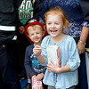 Hunter and Hailey McGough enjoy the Sellersville Fire Department's annual open house event Saturday, Oct. 22.  Debby High — For Digital First Media