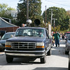 John Lutz, with the East Cheltenham Community Council, drives a pickup truck with a speaker attached to the top of it playing Halloween-themed music for the East Cheltenham Halloween Parade Oct. 29.  Rachel Wisniewski — For Digital First Media