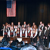 The Stayer Middle School chorus sings during Veterans are honored at the annual Veterans Day program at Strayer Middle School Friday, Nov. 11.  Debby High — For Digital First Media