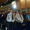 Veterans are honored at the annual Veterans Day program at Strayer Middle School Friday, Nov. 11.  Debby High — For Digital First Media