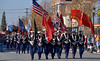 The Color Guard heads up the Lansdale Mardi Gras Parade Nov. 19, 2016.   |   Bob Raines--Digital first Media