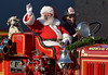 Santa gets a ride the North Penn Volunteer Fire Company antique fire engine Nov. 19, 2016.   |   Bob Raines--Digital first Media