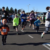 Participants set off on the course of Willow Dale Elementary School's Puma 5K Nov. 12.  Debby High — For Digital First Media
