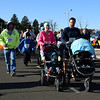 Walkers followed the runners in Willow Dale Elementary School's Puma 5K Nov. 12.  Debby High — For Digital First Media