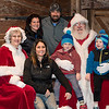 Santa and Mrs. Claus visit with Jessica, Dan and Jacob Mull Angel and Nathan Mittman.  Jeff Davis - For Digital First Media