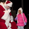 Andreana Mongone, of Lower Gwynedd, tellsSanta what she wants for Christmas this year.  Jeff Davis - For Digital First Media
