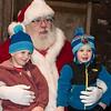 Santa Claus visits the Lower Gwynedd tree lighting at Veterans Park Nov. 26.  Jeff Davis - For Digital First MediaJeff Davis - For Digital First Media