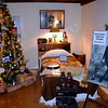 The Doylestown Historical Society shares history in the decoration of John Walsh's bedroom.  Debby High — For Digital First Media