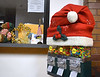 The candy machine in the lobby of Ambler Borough Hall<br /> wears a Santa hat in the spirit of the holiday season Dec. 8, 2016.   |   Bob Raines--Digital First Media