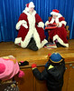 Santa and Mrs. Claus get settled to read stories at the Ambler Borough Hall Dec. 8, 2016.   |   Bob Raines--Digital First Media