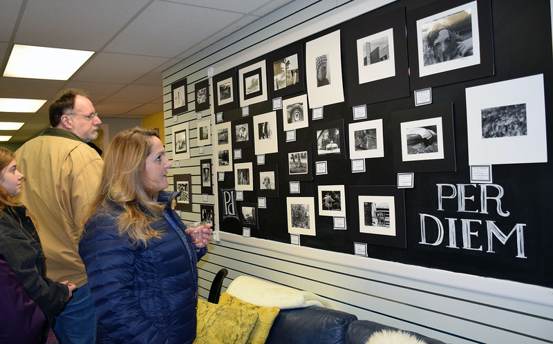 Per Diem Space and Sisters U host a showcase of student artwork to raise money for the Pennridge High School art department Thursday, Dec. 15.  Debby High — For Digital First Media