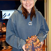 Pennridge senior Shana Montgomery displays her artwork. Debby High — For Digital First Media