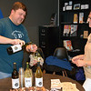 Stone & Key Winery serves up wine as Per Diem Space and Sisters U host a showcase of student artwork to raise money for the Pennridge High School art department Thursday, Dec. 15. Debby High — For Digital First Media