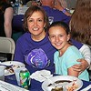 relay for life Survivor Dinner - mother & daughter