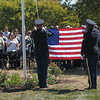 Montgomery County Community College holds 9/11 ceremony honoring former student veteran Brent Worthington at the Veteran Resource Center at the college;s Blue Bell campus September 12, 2016. Gene Walsh — Digital First Media