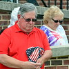 Thomas Hufnagle, Mayoor of Sellersville Borough took the quiet moment in Prayer of Remembrance for our service men & women, past & present. Debby High for Digital First Media.