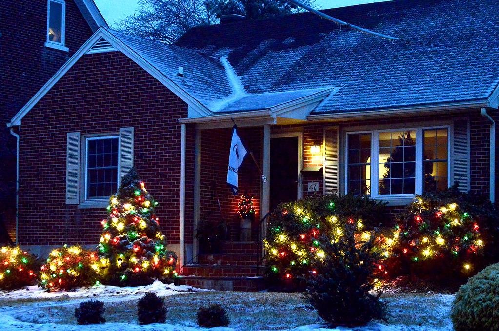 decorated home on adams ave souderton dec 17 2016 bob - Digital Christmas Lights