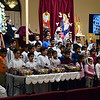 Monday night young voices sang during the prayer vigil held at St. Mary & St. Kyrillos Coptic Orthodox Church.  Debby High for Digital First Media