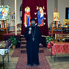 Father Antonious Salib of St. Mary & St Kyrillos Coptic Orthodox Church held a prayer vigil for the terror attack in Egypt on December 11, 2016. Debby High for Digital First Media