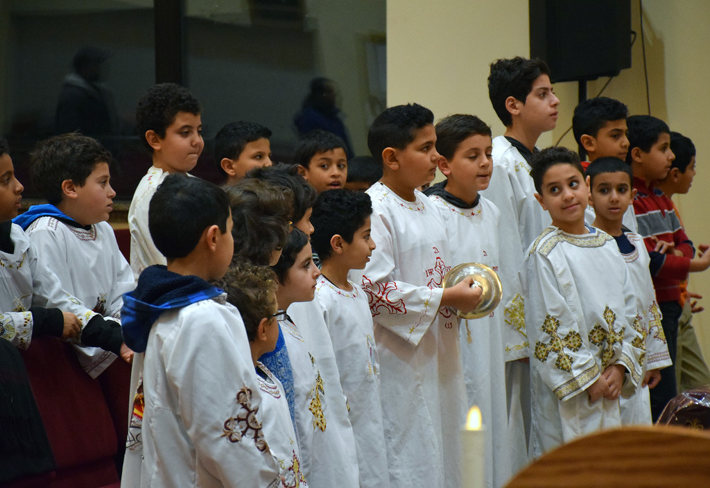 . Prayer in song & spirit was held in reguard to the Terrorist Attack on Peter�s Coptic Orthodox Church in Egypt on December 11, 2016. Debby High for Digital First Media
