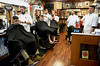 Inside the original Modern Male barbershop on E. Temple Ave., Sellersville July 26, 2016. | BOB RAINES--DIGITAL FIRST MEDIA