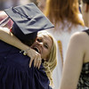 BOB RAINES--DIGITAL FIRST MEDIA //  New graduates embrace following commencement at Council Rock North High School  June 10, 2016.