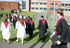 Bob Raines--Digital First Media<br /> New graduates face a steep climb back to the school following the William Tennent High School commencement June 15, 2016.