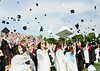 Bob Raines--Digital First Media<br /> William Tennent High School graduatestoss their caps in the air following commencement June 15, 2016.