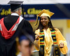A Cheltenham High School senior receives her diploma. The Class of 2016 is the first to graduate in an off-campus  ceremony which was held in the Hayman Center of La Salle University June 16, 2016. __ BOB RAINES / DIGITAL FIRST MEDIA