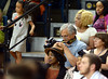 An audience member checks his photos at the Cheltenham 2016 commencement June 16, 2016.__ BOB RAINES / DIGITAL FIRST MEDIA