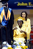 A Cheltenham High School senior receives her diploma at the June 16, 2016 commencement.__ BOB RAINES / DIGITAL FIRST MEDIA