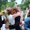 Members of the Jenkintown High School Class of 2016 show their appreciation for their teachers  during commencement. Debby High - For Digital First Media