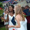 Members of the Jenkintown High School Class of 2016 and their families celebrated after the graduation ceremony. Debby High - For Digital First Media