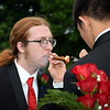 New Jenkintown High School graduates light up cigars to celebrate. Debby High - For Digital First Media