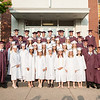 Submitted photo — Faith Christian Academy<br /> Members of Faith Christian Academy's Class of 2016 gather together.