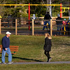 The walking paths and the playground are busy at Fischer's Park, Harleysville Jan. 25, 2017.  (Bob Raines--Digital First Media)