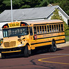 Debby High — For Digital First Media<br /> The buses arrive at Guth Elementary on the first day of school Monday, Aug. 29.
