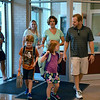Debby High — For Digital First Media<br /> Parents and children enjoy the first day of school at Guth Elementary Monday, Aug. 29.