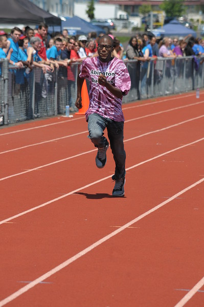 Hatboro Horsham High School holds its inaugural Special Olympics Track Meet