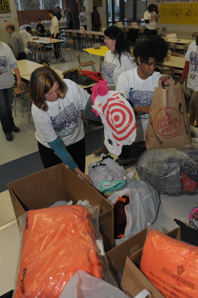 Highland Elementary's 11th annual Martin Luther King Day of Service