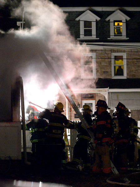 01/23/17 Fire causes extensive damage to Ambler home