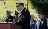 Rear Admiral (R) Stephen Yusem, US Navy, speaks to the audience at the Lower Gwynedd Veterans Day Service Nov. 5, 2016.   |   Bob Raines--Digital First Media