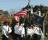 The Honor Guard from the Daniel W. Dowling American Legion Post 769 presents the colors at the start of the Lower Gwynedd Veterans Day Service Nov. 5, 2016.Bob Raines--Digital First Media
