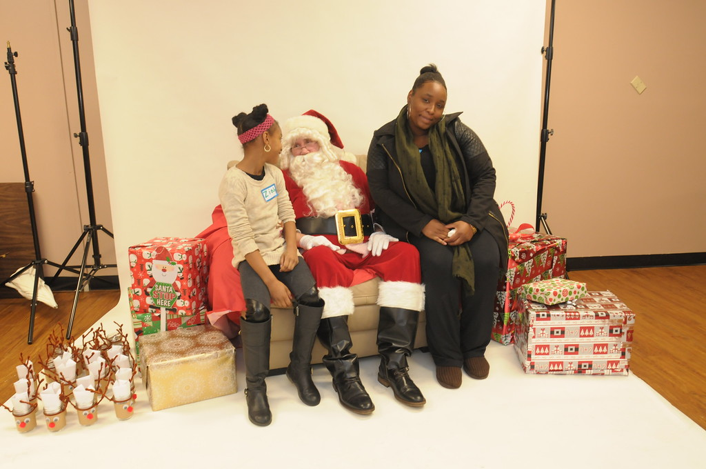 . Interfaith Housing Alliance holds Christmas Party for their families in Ambler December 16, 2016, 2016. Gene Walsh � Digital First Media